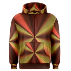 Copper Beams Abstract Background Pattern Men s Zipper Hoodie by Simbadda