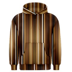 Brown Line Image Picture Men s Zipper Hoodie by Mariart