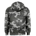 Initial Camouflage Grey Men s Zipper Hoodie View2