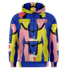 Shake Hands Men s Zipper Hoodie by Mariart