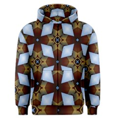 Abstract Seamless Background Pattern Men s Zipper Hoodie by Simbadda