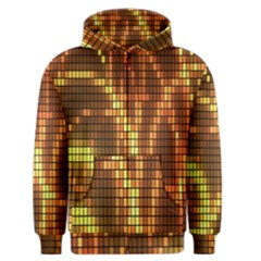 Circle Tiles A Digitally Created Abstract Background Men s Zipper Hoodie by Simbadda