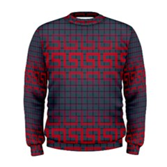 Abstract Tiling Pattern Background Men s Sweatshirt by Simbadda
