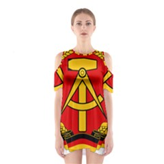 National Emblem Of East Germany  Shoulder Cutout One Piece by abbeyz71
