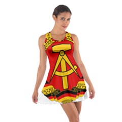 National Emblem Of East Germany  Cotton Racerback Dress by abbeyz71
