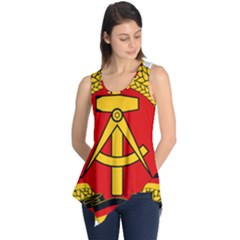 National Emblem Of East Germany  Sleeveless Tunic by abbeyz71
