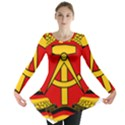National Emblem of East Germany  Long Sleeve Tunic  View1