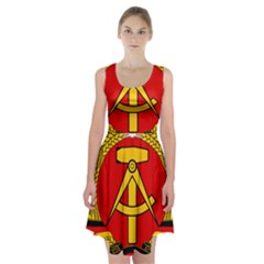National Emblem Of East Germany  Racerback Midi Dress by abbeyz71