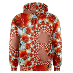 Stylish Background With Flowers Men s Zipper Hoodie by Nexatart