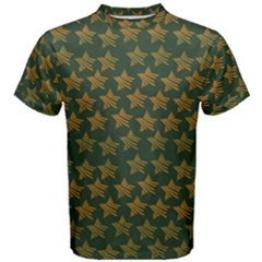 Stars Pattern Background Men s Cotton Tee