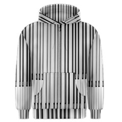 Abstract Piano Keys Background Men s Zipper Hoodie by Nexatart