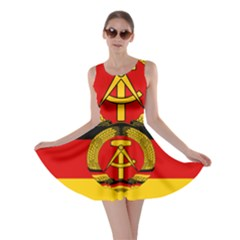 Flag Of East Germany Skater Dress by abbeyz71
