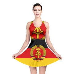 Flag Of East Germany Reversible Skater Dress by abbeyz71