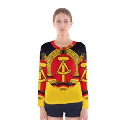 Flag Of East Germany Women s Long Sleeve Tee by abbeyz71