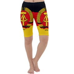 Flag Of East Germany Cropped Leggings  by abbeyz71