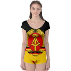Flag Of East Germany Boyleg Leotard  by abbeyz71
