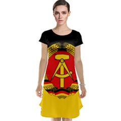 Flag Of East Germany Cap Sleeve Nightdress by abbeyz71