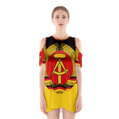 Flag Of East Germany Shoulder Cutout One Piece by abbeyz71