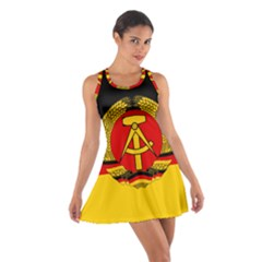 Flag Of East Germany Cotton Racerback Dress by abbeyz71