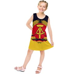 Flag Of East Germany Kids  Tunic Dress by abbeyz71