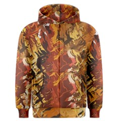 Abstraction Abstract Pattern Men s Zipper Hoodie by Nexatart
