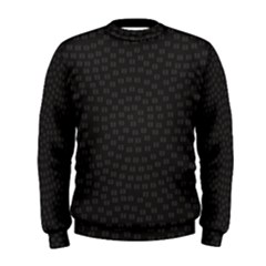 Oklahoma Circle Black Glitter Effect Men s Sweatshirt by Mariart