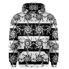 Three Wise Men Gotham Strong Hand Men s Zipper Hoodie by Mariart