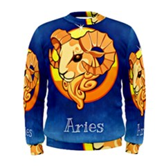 Zodiac Aries Men s Sweatshirt by Mariart