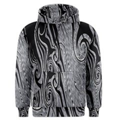 Abstract Swirling Pattern Background Wallpaper Men s Zipper Hoodie by Nexatart