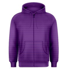 Pattern Violet Purple Background Men s Zipper Hoodie by Nexatart