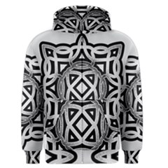 Celtic Draw Drawing Hand Draw Men s Zipper Hoodie by Nexatart