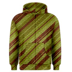 Stripes Course Texture Background Men s Zipper Hoodie by Nexatart