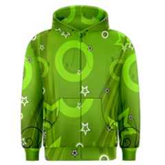 Art About Ball Abstract Colorful Men s Zipper Hoodie by Nexatart