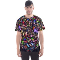 Network Integration Intertwined Men s Sport Mesh Tee by Nexatart