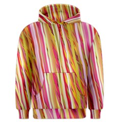 Color Ribbons Background Wallpaper Men s Zipper Hoodie by Nexatart