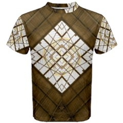 Steel Glass Roof Architecture Men s Cotton Tee
