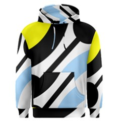 Circle Line Chevron Wave Black Blue Yellow Gray White Men s Pullover Hoodie by Mariart