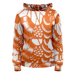 Chinese Zodiac Horoscope Zhen Icon Star Orangechicken Women s Pullover Hoodie by Mariart