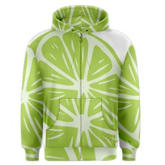 Gerald Lime Green Men s Zipper Hoodie by Mariart