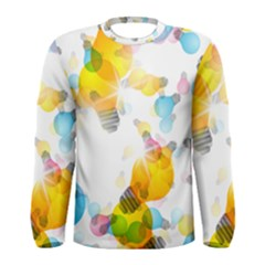 Lamp Color Rainbow Light Men s Long Sleeve Tee by Mariart