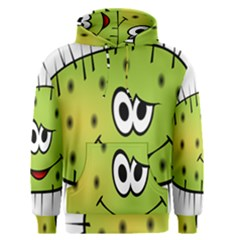 Thorn Face Mask Animals Monster Green Polka Men s Pullover Hoodie by Mariart