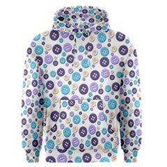 Buttons Chlotes Men s Pullover Hoodie by Mariart