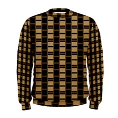 Geometric Shapes Plaid Line Men s Sweatshirt by Mariart