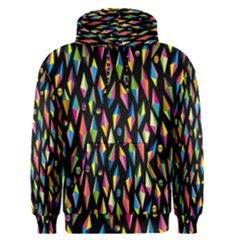 Skulls Bone Face Mask Triangle Rainbow Color Men s Pullover Hoodie by Mariart