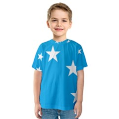 Starry Plough Flag Kids  Sport Mesh Tee by abbeyz71