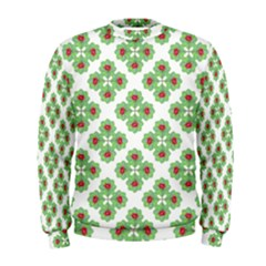 Floral Collage Pattern Men s Sweatshirt by dflcprintsclothing