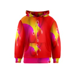 Complex Orange Red Pink Hole Yellow Kids  Zipper Hoodie by Mariart