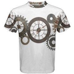 Hour Time Iron Men s Cotton Tee by Mariart