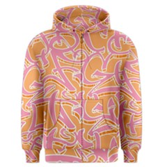 Abc Graffiti Men s Zipper Hoodie by Nexatart