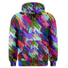 Tropical Jungle Print And Color Trends Men s Zipper Hoodie by Nexatart
